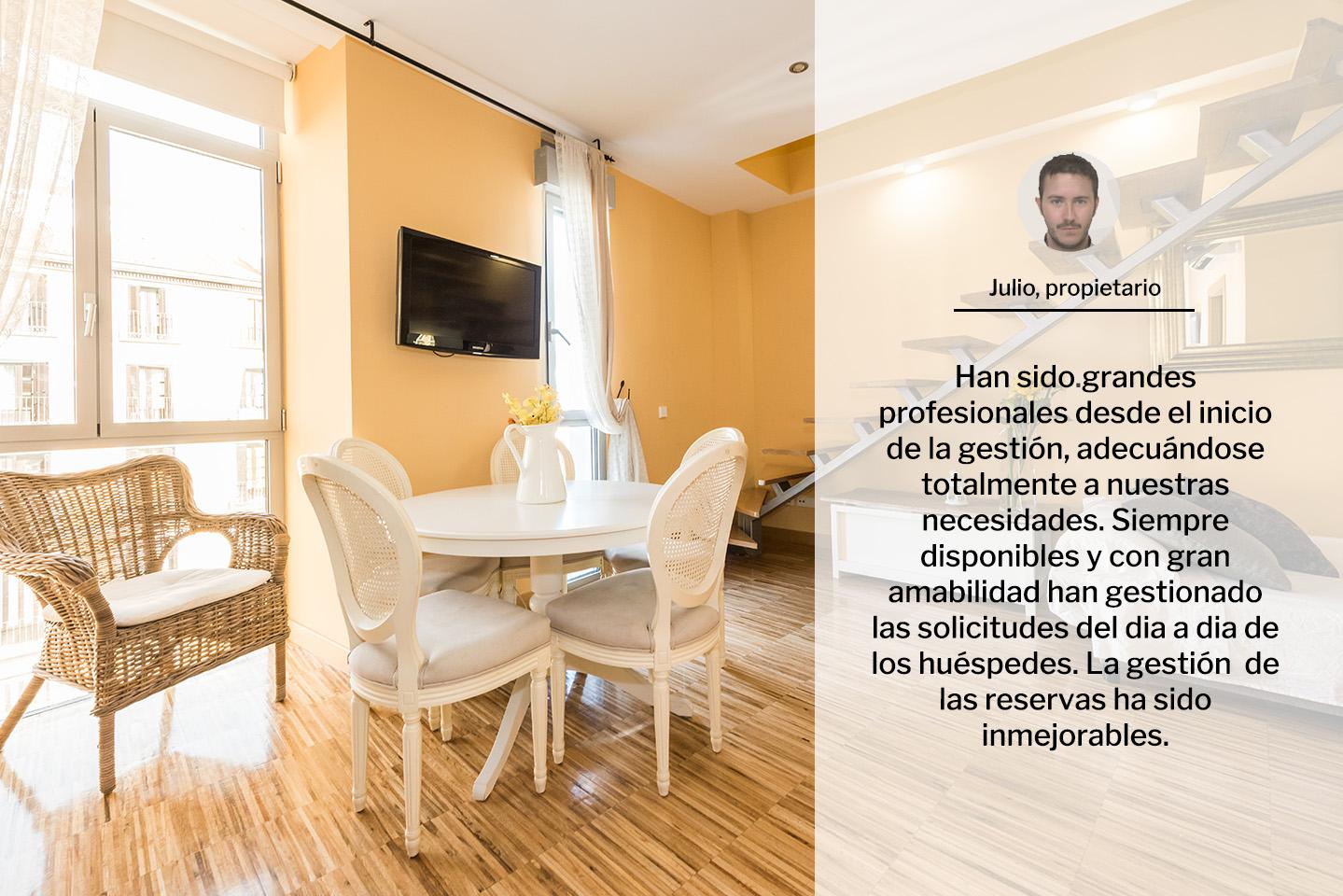 Housy gesti n de pisos y apartamentos tur sticos en madrid - Apartamento turistico madrid ...